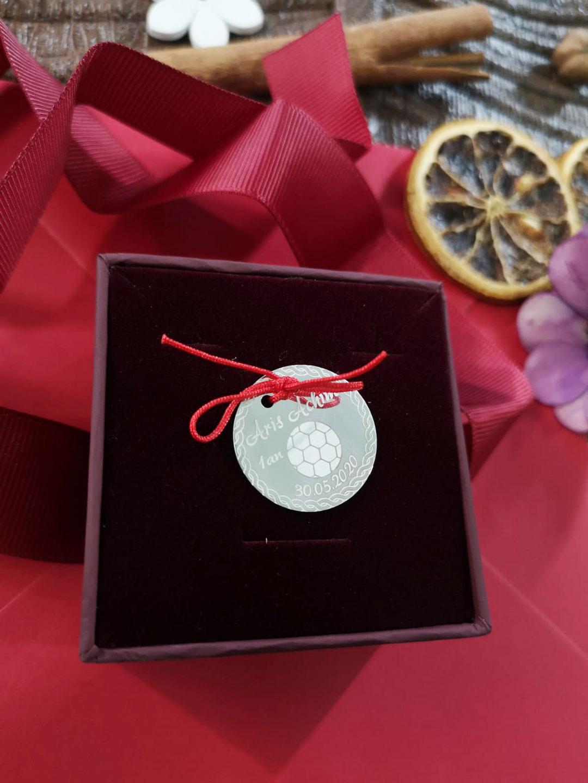 Banut de botez sau mot din Argint 925, 24 mm